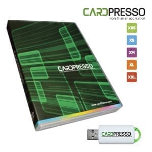 logiciel software cardpresso impression carte badge